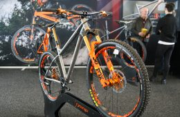 Nicest hardtail ever?- Orange Limited Ed T7 Ti hardtail-