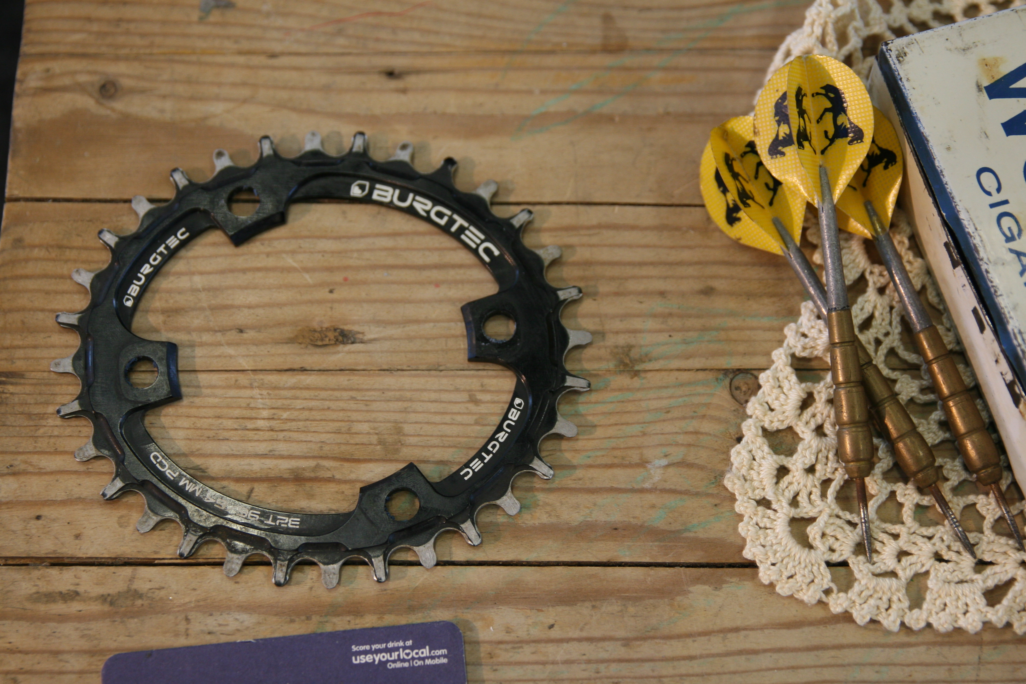 Burgtec Oval Chainring