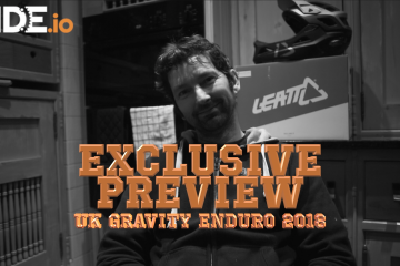UK Gravity Enduro Steve Parr Exclusive inteerview