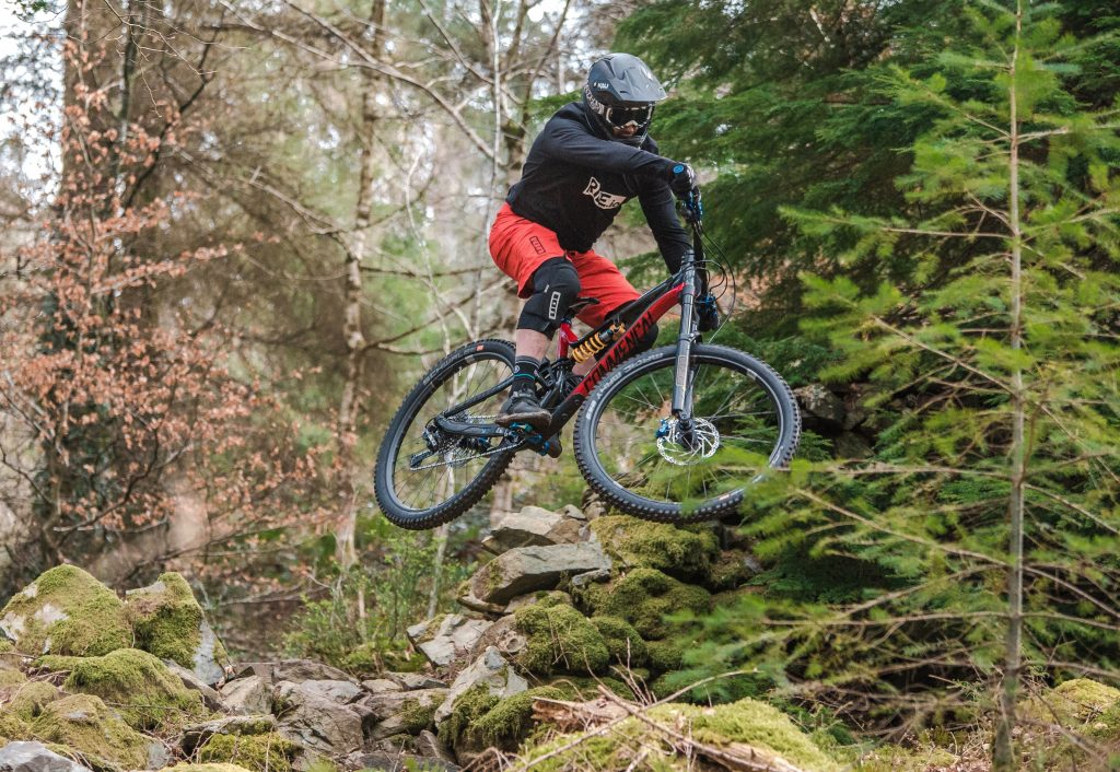 team Ride It Out Commencal Meta Emyr Davies